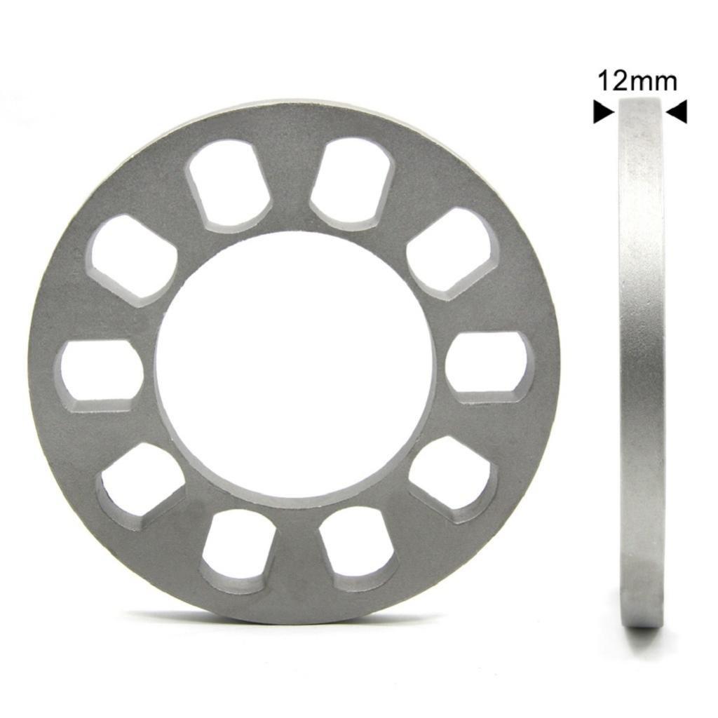 Distanziali Ruota 5 Fori 12mm In CNC Per Auto 5X114.3 5X120 5X120.7 5X127