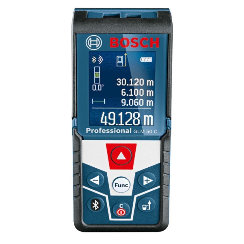 Bosch Medidor GLM 50 C Professional + GMS 120 Professional, Azul: Amazon.es: Electrónica