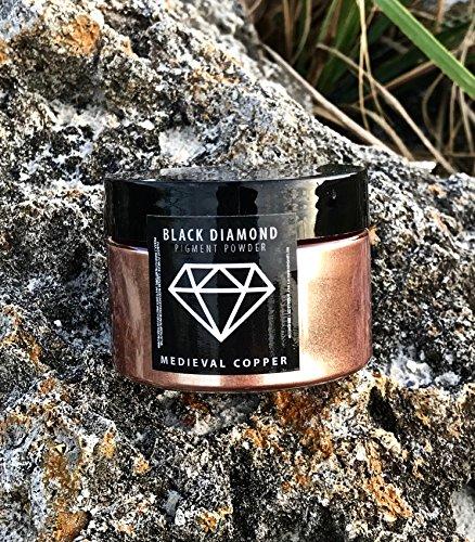 BLACK DIAMOND PIGMENTS 42g/1 5oz Medieval Copper Mica Powder Pigment  (Epoxy,Paint,Color,Art)