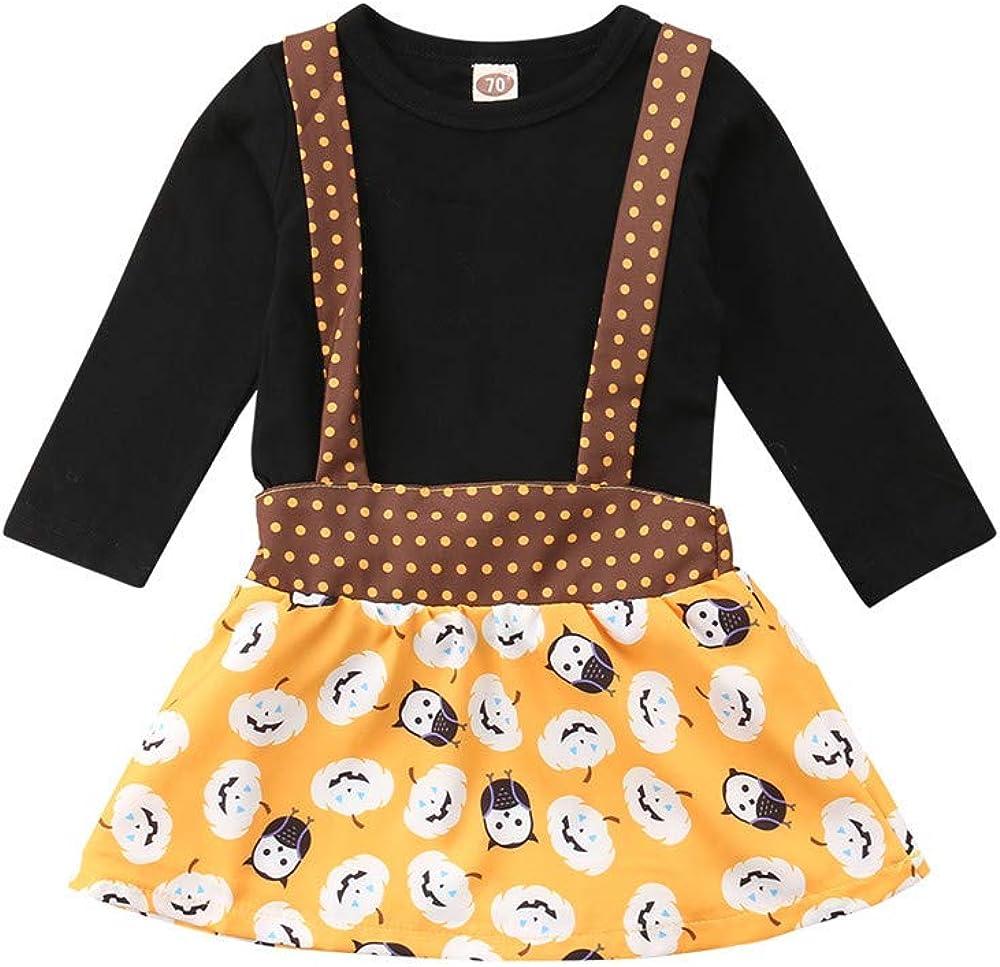 Wang-RX Recién Nacido Niño Bebé Niñas Camiseta de Manga Larga Tops ...