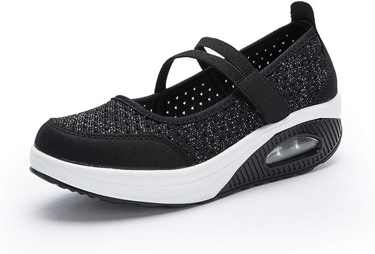gracosy Zapatos Malla Caminar Mujer 2019 Casual Sport Zapatillas ...