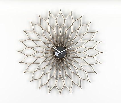 Vitra Sunflower Clock By George Nelson   Birch