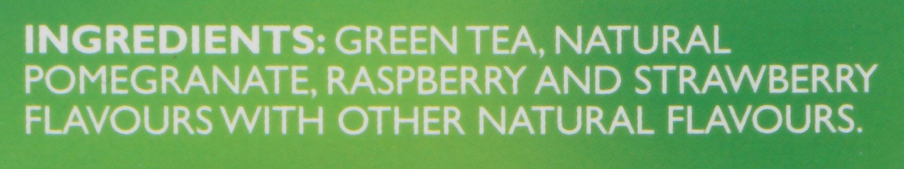 Twinings of London Green Tea Bags, Pomegranate, Raspberry and Strawberry, 20 Count (Pack of 6)
