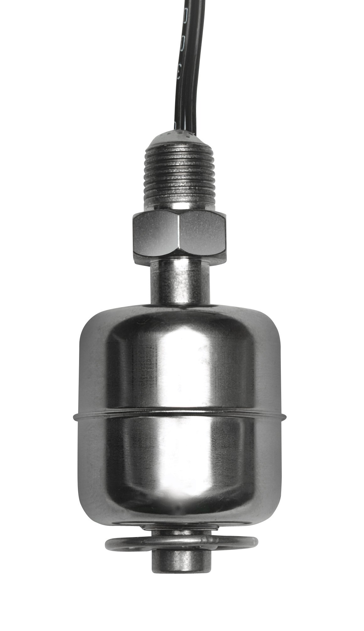 Madison M5000 316 Stainless Steel Miniature Liquid Level Switch with Stem, 30 VA SPST, 1/8 NPT, 300 psig Pressure