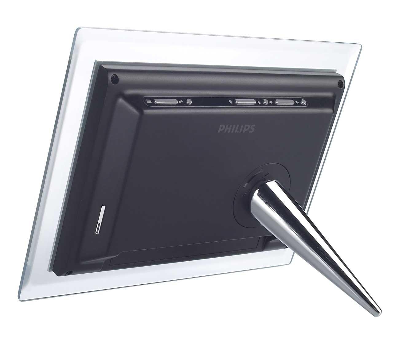 Amazon.com : Philips 6.5-Inch Digital Photo Frame (Clear & Black ...