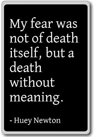 Amazon My Fear Was Not Of Death Itself But A Death Wi