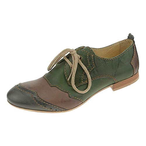 Schnürhalbschuhe Damen Schuhe Rovers 3801337 Eu Leder PklOXZwuiT