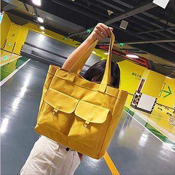 Para mujer probable grandes compras hombro Lavable Plegable Escuela Bolso De Viaje Bolso