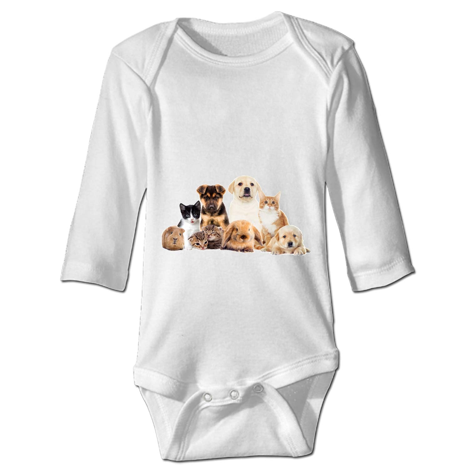 KuLuKo Animal Family Baby Sports Bodysuit Jumpsuit