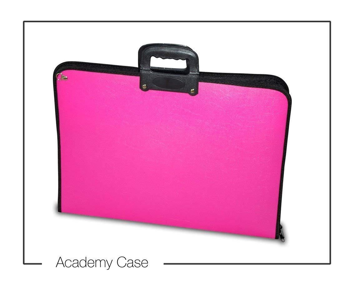 Artcare 15913010 Porta fogli A3 in materiale sintetico, 46,5 x 3 x 35,5 cm, rosa Mapac