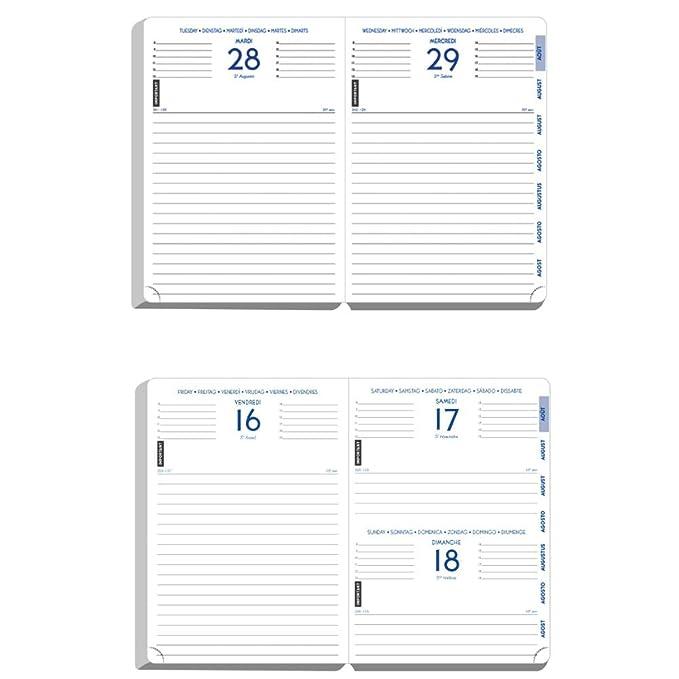 Agenda 2019-2020 - multilingüe - 17 x 12 cm - Chic y ...