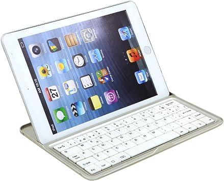 Teclado para ipad mini Bluetooth español, teclado para ipad ...