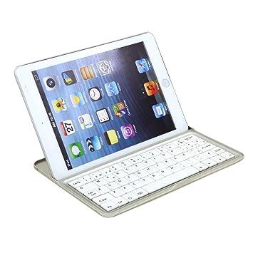 Teclado para ipad mini Bluetooth español, teclado para ipad mini 2 español Bluetooth, keyboard para ipadmini y ipadmini 2: Amazon.es: Electrónica