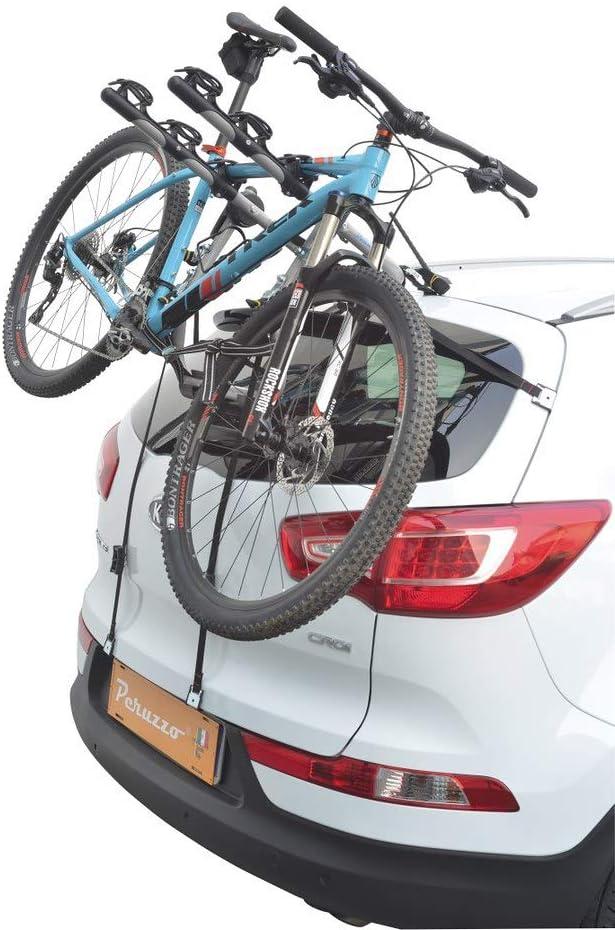 10-13 5p COMPATIBILE CON Hyundai ix35 Rails PORTABICI POSTERIORE PER AUTO IN ALLUMINIO PER 3 BICI PORTA BICICLETTE PER AUTO RETRO CON REGOLAZIONI CARICO MAX 45KG