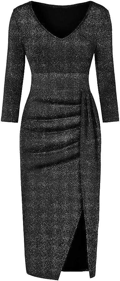 New Womens Ladies Velvet  Ruched Front Midi Dress Fancy Dinner Club