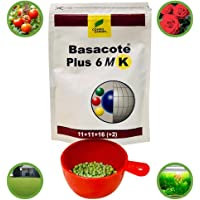 BASACOTE® Plus (from Germany) Slow Release NPK Fertilizer 11-11-16 + Micronutrients/Plant Feed for Home Plants - Indoor and Outdoor - 250g