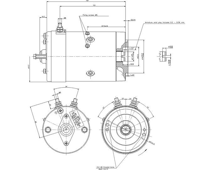 Motor Delco Remy 19025743 Feline