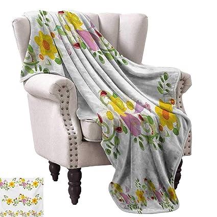 Amazon.com: Anyangeight Weave Pattern Extra Long Blanket ...