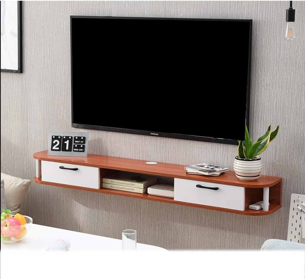 LBYMYB Mueble de Estante para TV montado en la Pared Estante de Juegos de Consola de Entretenimiento Multimedia con Muebles de cajones Marco de Pared (Color : C): Amazon.es: Hogar