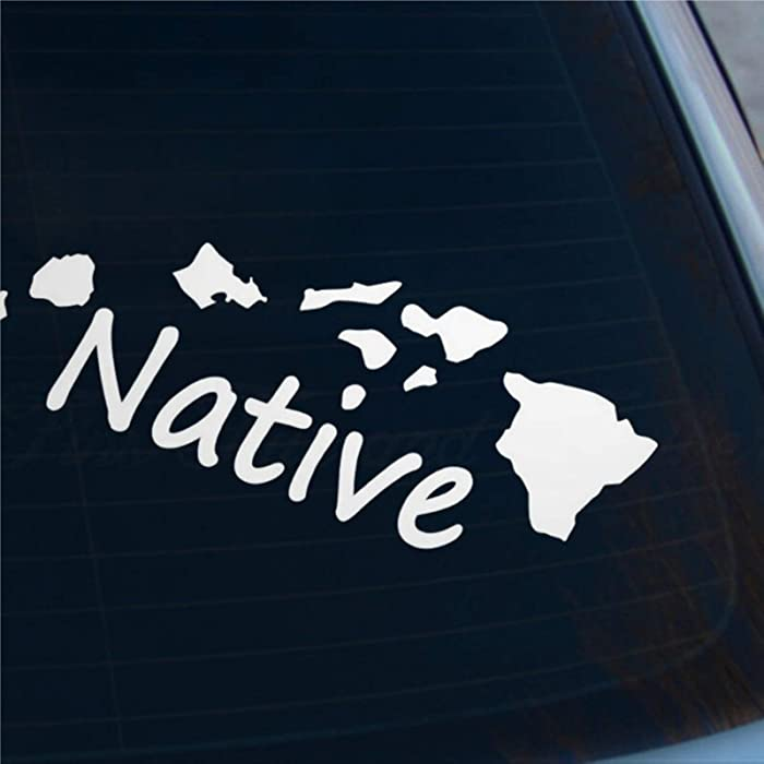 Top 10 Hawaii State Home Laptop Sticker