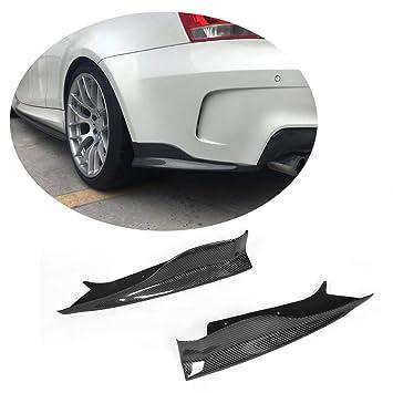 Para Bmw SERIE 1 E82 1 m Coupe 2011 2012 mcarcar Kit trasera divisores Real de fibra de carbono coche orejeras: Amazon.es: Coche y moto