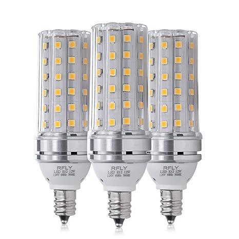 E12 Led Bulbs 12w Led Candelabra Bulb 100 Watt Equivalent 1200lm