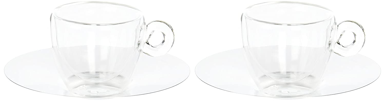 Thermic 6.5 cl Espresso Cup with Saucer Gift Box Pack of 2