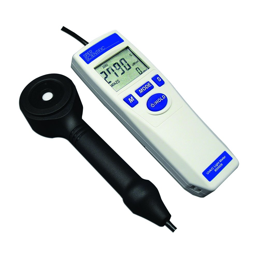 Sper Scientific 850010 UV Light Meter UVC by Sper Scientific
