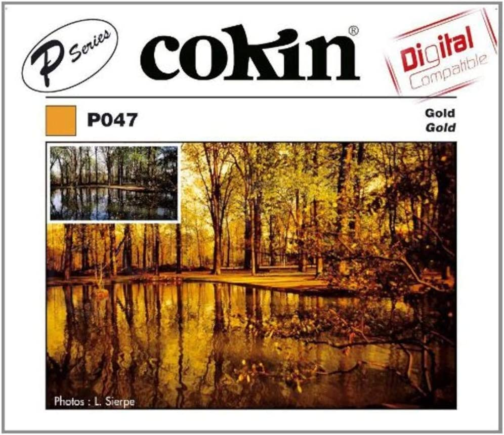 Cokin P047 Goldfilter Größe P Kamera