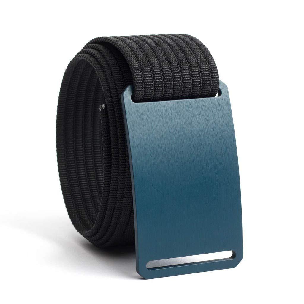 Men's Web Belt GRIP6 (46in Aggie Blue w/Black Strap)
