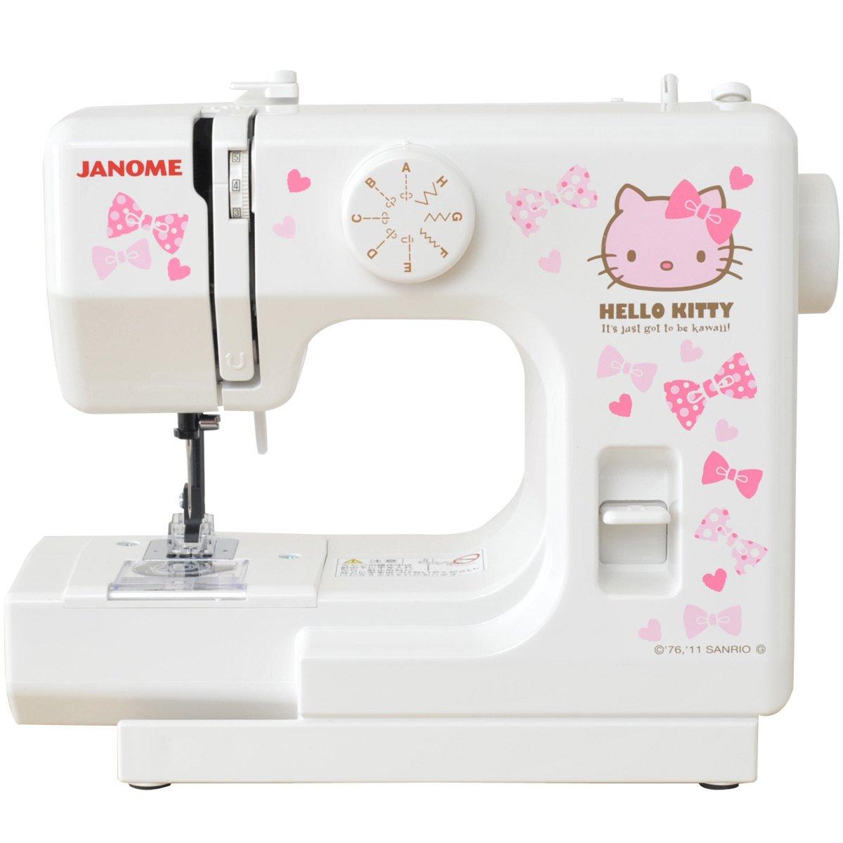 Janome Hello Kitty compact sewing machine white KT-W JANOME (Janome)
