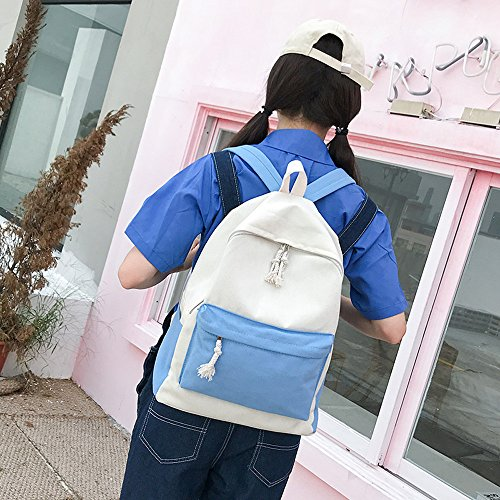 Buy small canvas backpack woemns