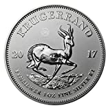 #6: 2017 Silver Krugerrand (1 oz) South African Mint Premium Uncirculated