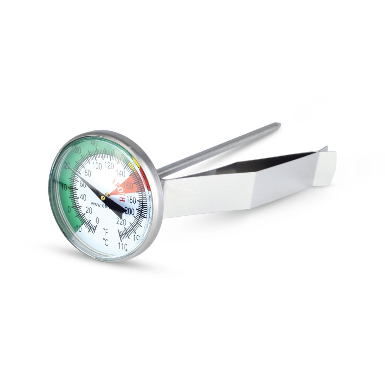 Milk frothing/coffee thermometer - barista thermometer - 45mm dial ETI Ltd