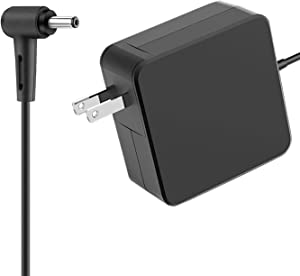 Mackertop UL Listed 65W 45W AC Charger Fit for Asus NovaGo TP370QL TP370Q TP370 Laptop Power Supply Adapter Cord 19V 3.42A 65Watt