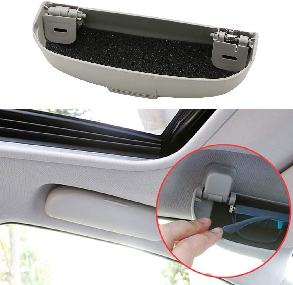 RelaxToday /Étui /à Lunettes de Voiture bo/îte de Rangement Lunettes de Voiture /étui sp/écial pour Ford//Focus 3 4 MK3 MK4 KUGA Ecosport//Fiesta//Mondeo
