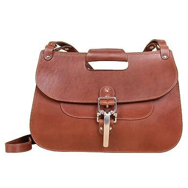 52ffc24212 Amazon.com  Womens Crossbody Purse Shoulder Handbag Brown Chestnut ...