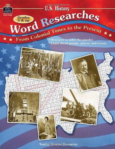 U.S. History Word (Re) Searches: From Colonial Times to the Present ebook