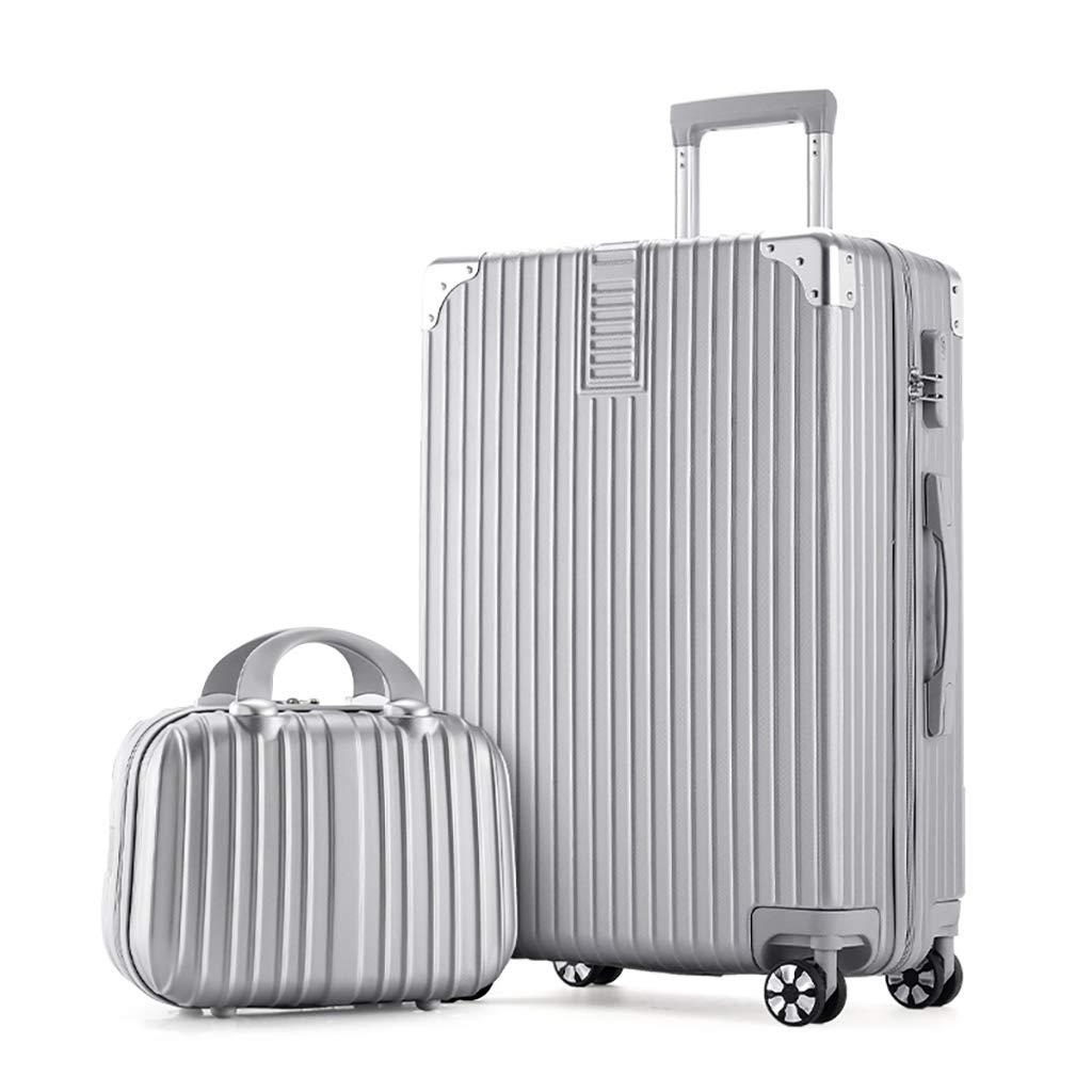 2つの荷物セットのセット、超軽量キャビンは53x36x25cmと29x24x14cmを承認しました荷物旅行スーツケースホイールバッグバッグ B07QT9QJ7M