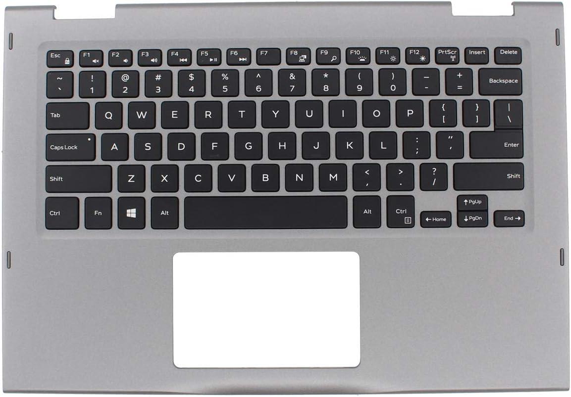 XtremeAmazing Palmrest Case with Backlit Keyboard 0JCHV0 JCHV0 for Dell Inspiron 13MF 5000 5368 5378 5379