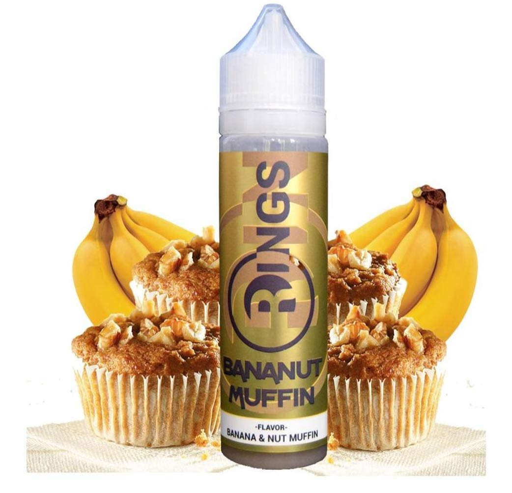 E Liquid Rings Bananut Muffin 50ml - 70vg 30pg + E Liquid Kings Crest Don Juan Reserve 50ml - 70vg 30pg + E Liquid The Boat 10 ml lima limón - Sin ...