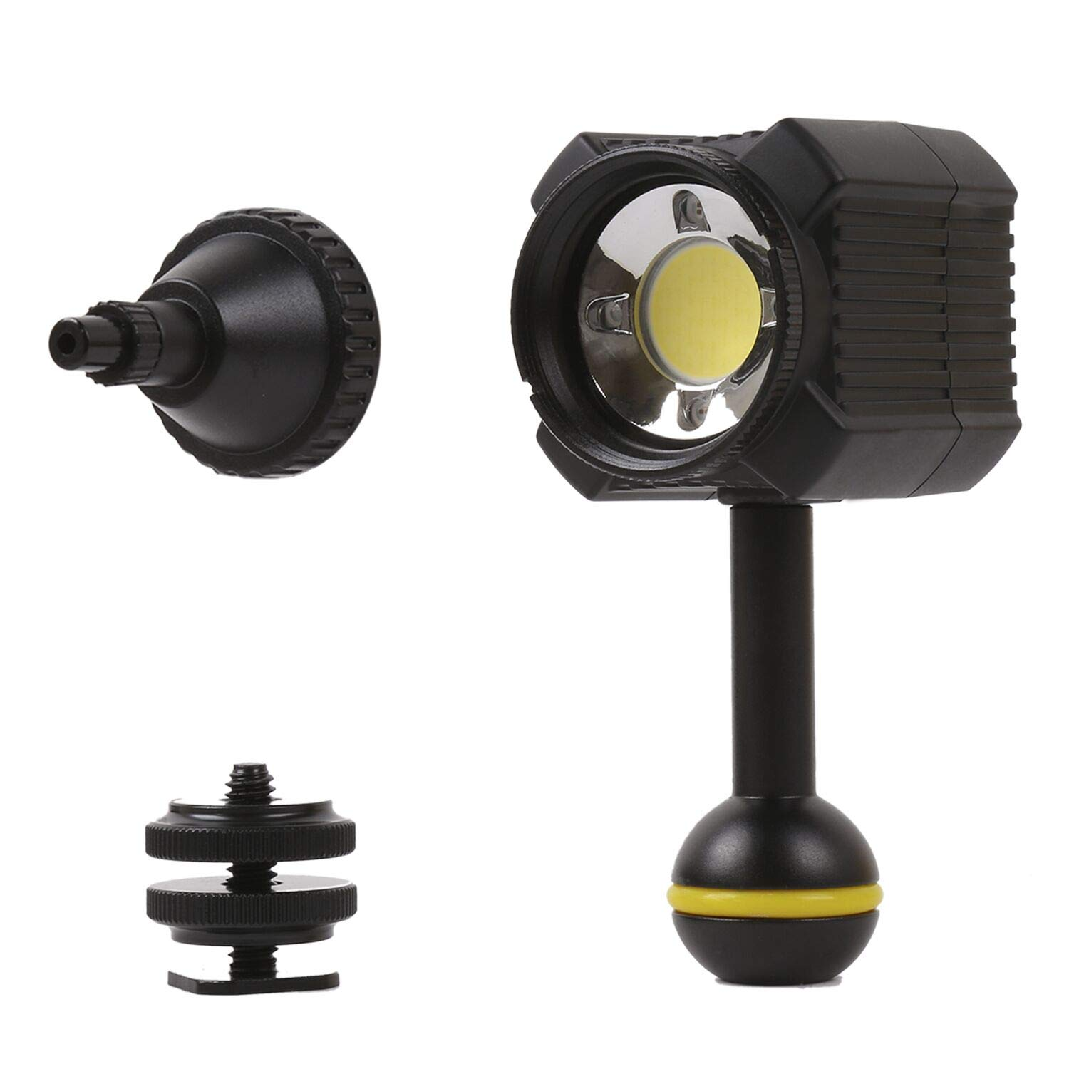Orsda Diving Light High Power Mini Waterproof led Light Scuba Diving Lights Fill-in Light for Waterproof housing Underwater Photographic Lighting System