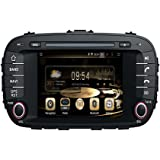 Effort GPS Navigation Android 7.1 Car Stereo CD DVD Player In Dash Radio with 7
