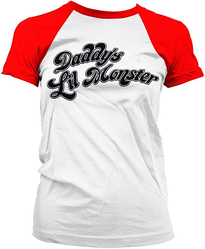 Suicide Squad Daddy's Lil Monster T Shirt pour Fille: Amazon