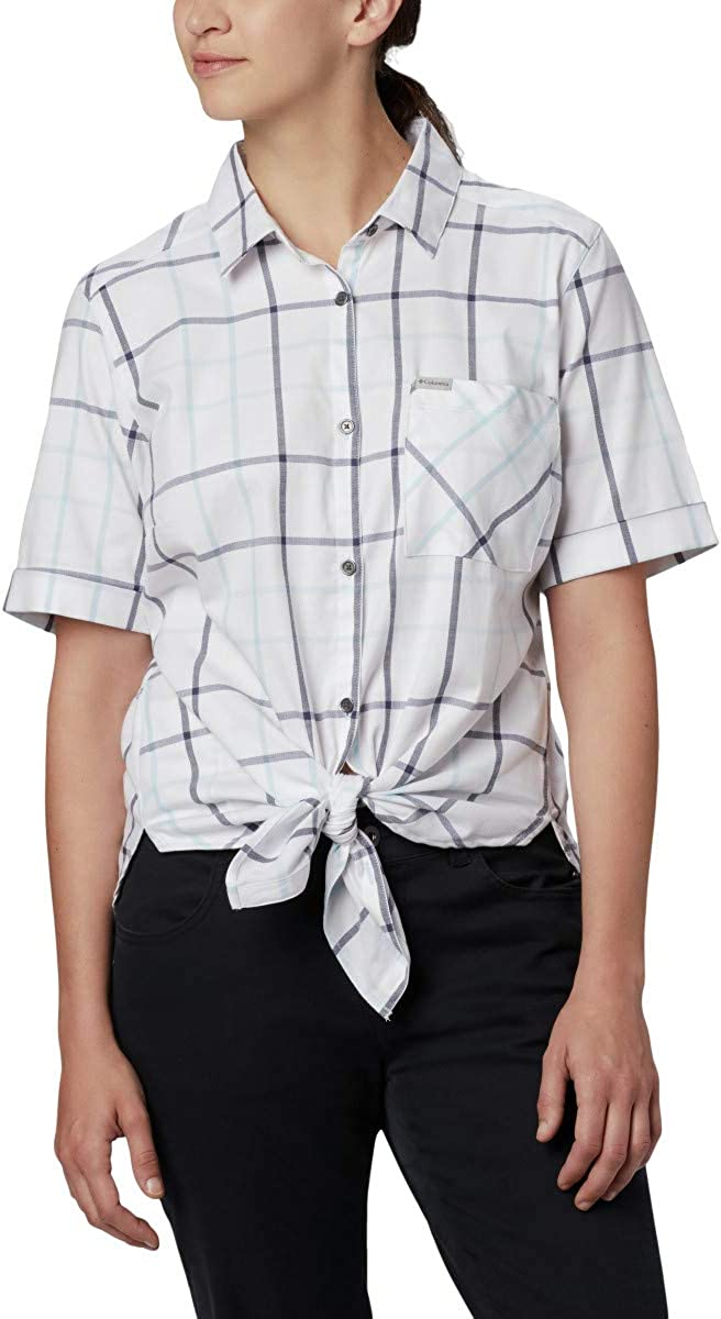 Columbia Womens Anytime Casual Stretch SS Shirt