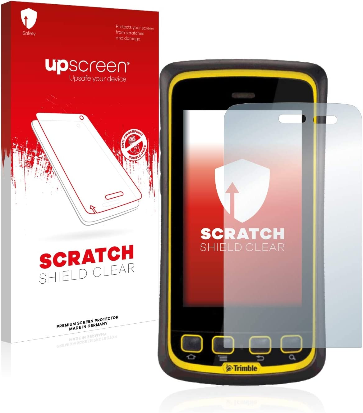 Multitouch Optimized Scratch Shield Clear Screen Protector for Juno T41 C upscreen High Transparency Strong Scratch Protection