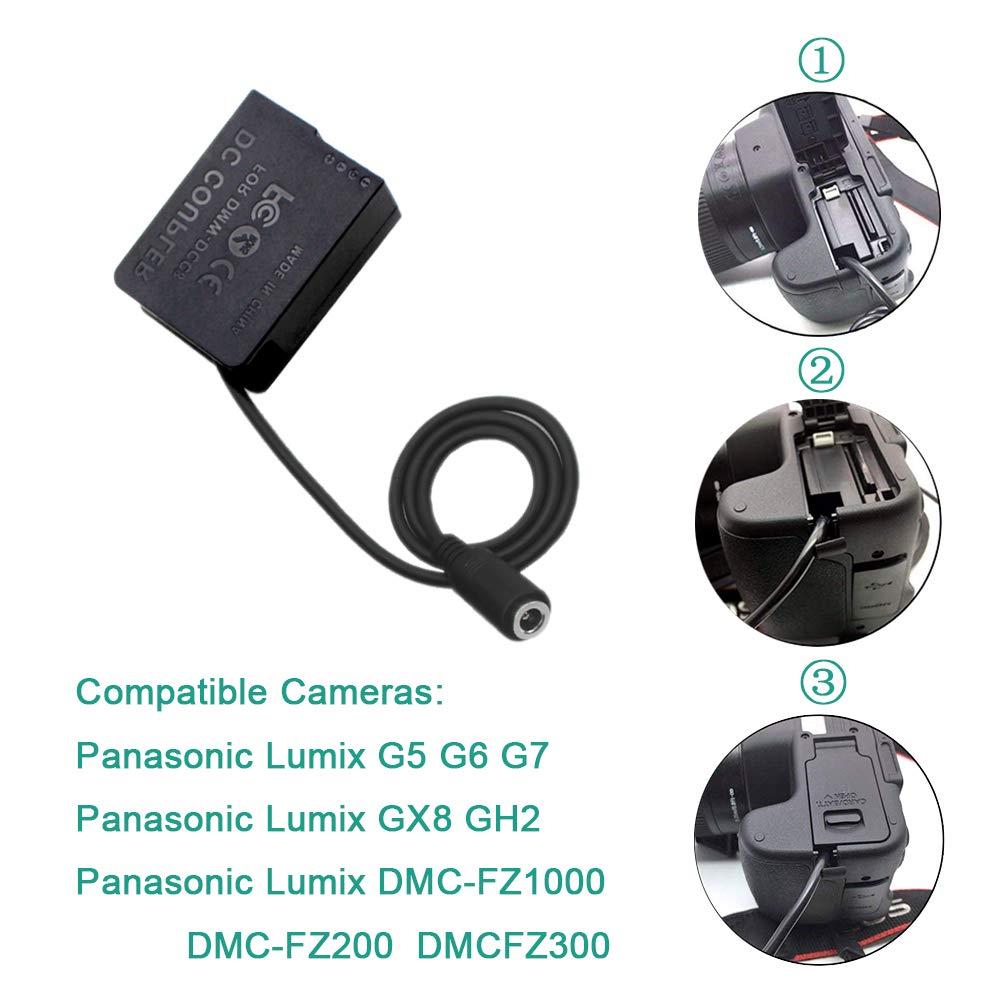 HENGYI EH-5 EP-5A AC Power Supply Adapter DC Coupler Dummy Battery for Nikon D3100 D3200 D3300 D5100 D5200 D5300 D5500 D5600 Df P7000 P7100 P7700 D7800 kit Replacement EN-EL14//EN-EL14A Battery