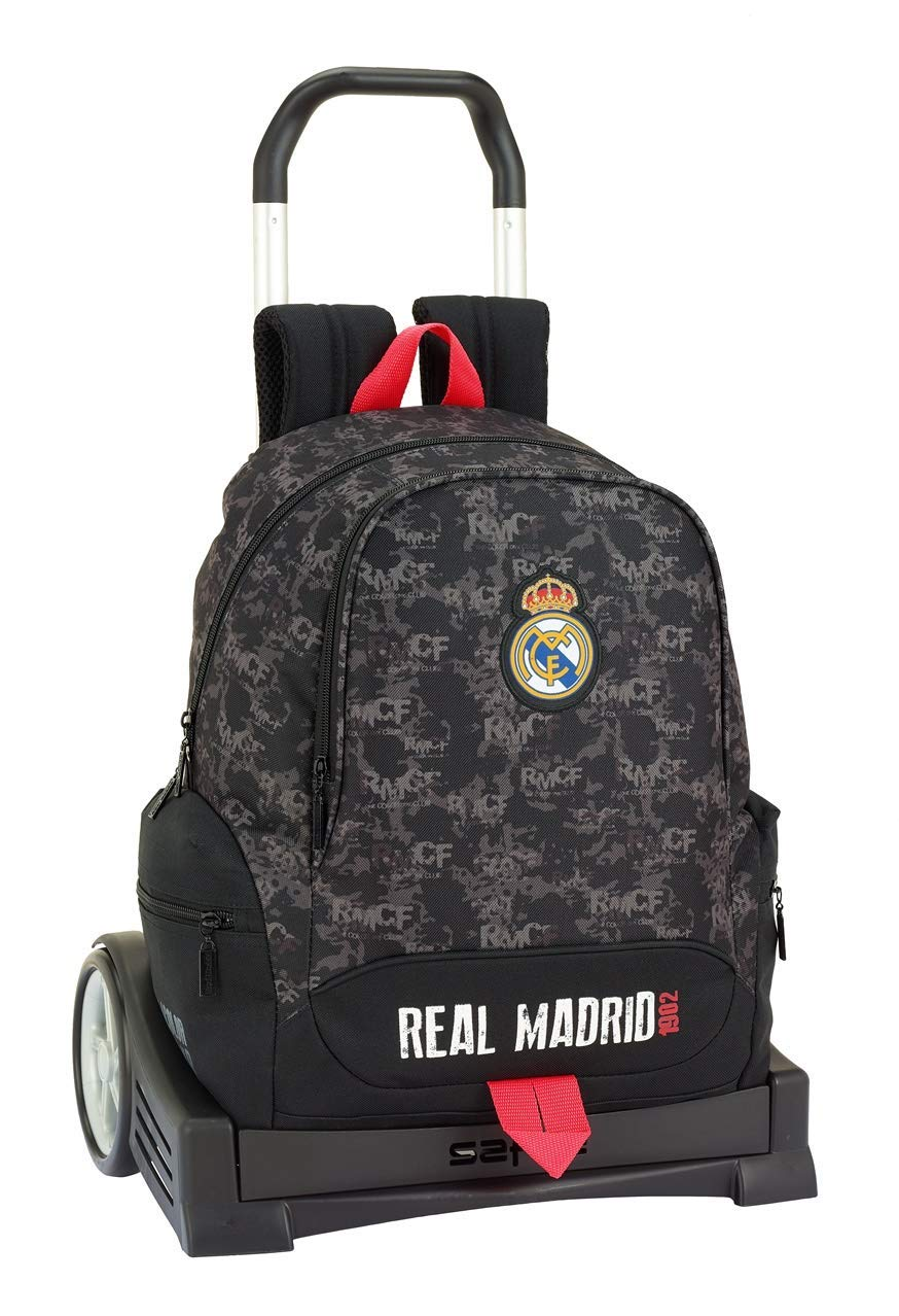 Real Madrid CF Color Negro SAFTA 611924313 Real Madrid Trolley