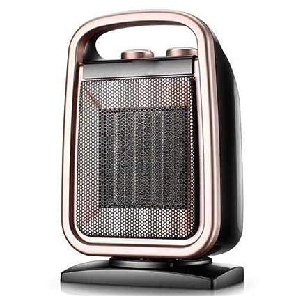 Calentador De Espacio De Cerámica Portable Con El Termóstato Ajustable, Protección Eléctrica Del Sobrecalentamiento Del