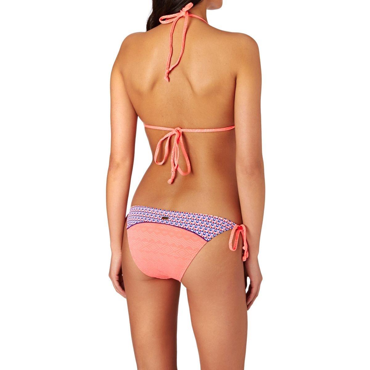 Roxy ERJX203055, Haut de Maillot de Bain Femme, Orange, FR: 40 (Taille Fabricant: L)